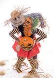 Halloween-paar royalty-vrije stock afbeelding