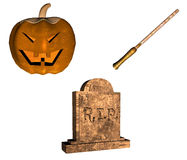 Halloween pack  Stock Photos