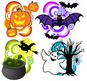 Halloween pack Royalty Free Stock Photography
