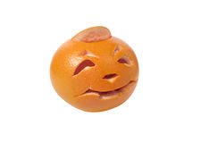 Halloween-Pampelmuse Lizenzfreies Stockfoto