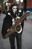 Halloween-Parade in New York City, 2010 lizenzfreie stockbilder