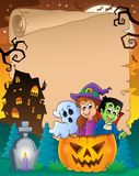 Halloween parchment 5 Royalty Free Stock Photos