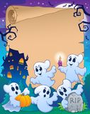 Halloween parchment 8 Royalty Free Stock Photography