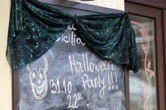 Halloween-Partei Stockbild