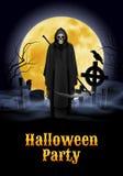 Halloween-Parteiillustration Lizenzfreie Stockfotos