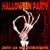 Halloween-partij 03 royalty-vrije illustratie