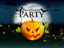 Halloween-partij Stock Afbeeldingen