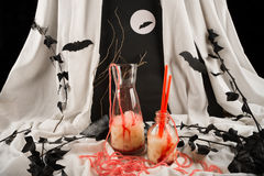 Halloween-partijcocktail Stock Foto's