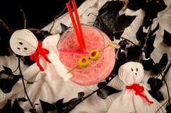 Halloween-partijcocktail Stock Afbeelding