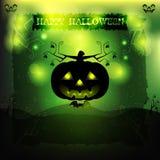 Halloween-Partijuitnodiging Royalty-vrije Stock Foto's
