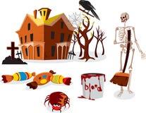Halloween-Party lizenzfreie abbildung
