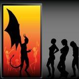 Halloween-Party Lizenzfreies Stockfoto