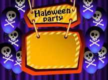 Halloween-Party. (2) Lizenzfreie Stockbilder