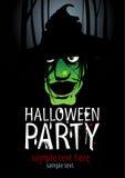 Halloween-Party. Lizenzfreies Stockfoto