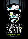 Halloween-Party. Lizenzfreie Stockfotos