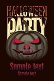 Halloween-Party Stockfotografie