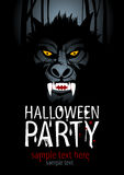 Halloween party. Stock Images