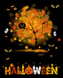 Halloween party background. For your design Stock Photos