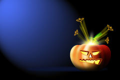 Halloween party background Stock Image