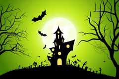 Halloween Party Background Stock Photo