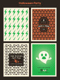 Halloween Party background for invitation card / poster / flyer Royalty Free Stock Photos