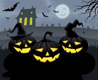 Halloween Party Background Stock Images
