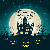 Halloween Party Background Stock Photography