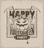 Halloween party Stock Photography