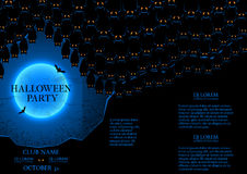 Halloween party booklet Royalty Free Stock Images