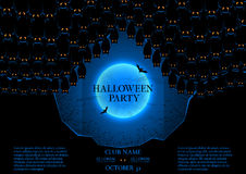 Halloween party booklet Stock Photography