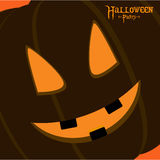 Halloween party card Stock Photography
