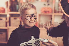 Before Halloween party Stock Image