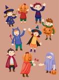 Halloween party child icon Royalty Free Stock Photo