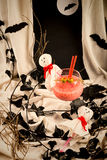 Halloween party cocktail Royalty Free Stock Image
