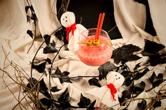 Halloween party cocktail still life Royalty Free Stock Photography