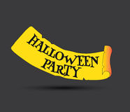 Halloween Party Concept Design Stock Photography