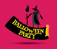Halloween Party Concept Design Royalty Free Stock Images