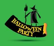 Halloween Party Concept Design Stock Photo
