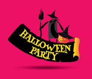 Halloween Party Concept Design Royalty Free Stock Image