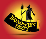 Halloween Party Concept Design Royalty Free Stock Photo