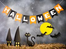 Halloween party decoration. Royalty Free Stock Photos