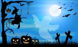 Halloween_party vector illustration