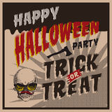 Halloween Party design template Stock Images