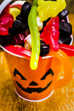 Halloween party details Royalty Free Stock Image