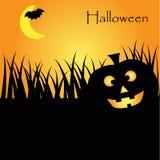 Halloween Party Flyer Stock Photo