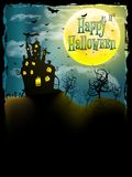 Halloween party greeting card. EPS 10 Stock Images