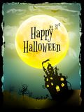 Halloween party greeting card. EPS 10 Stock Photos