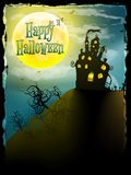 Halloween party greeting card. EPS 10 Stock Photography