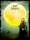Halloween party greeting card. EPS 10 Royalty Free Stock Photos