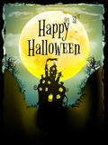 Halloween party greeting card. EPS 10 Royalty Free Stock Image